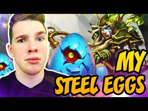 Hearthstone: My Steel Eggs!