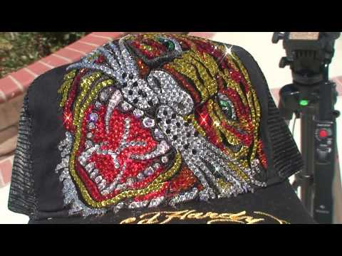 ed hardy hat flaming tiger.mpg Video