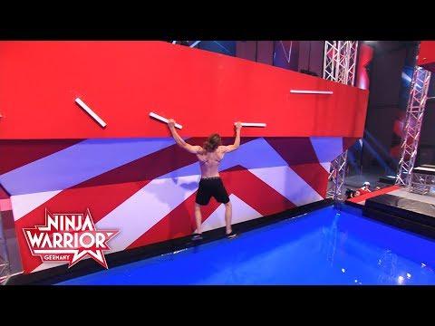 Alex Wurm überzeugt mit Technik | Ninja Warrior Germany 2018