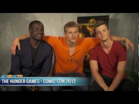 The Hunger Games Alexander Ludwig Dayo Okeniyi Jack Quaid Talk THG DVD Release