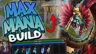 Smite: Kukulkan Max Mana Build - INSANE DAMAGE AND HEALTH!