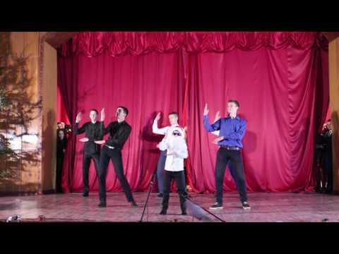 Шикарный танец парней