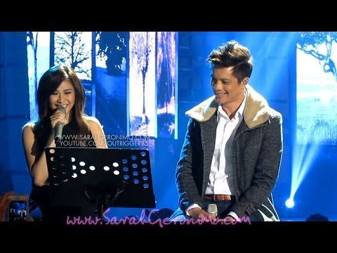 Sarah Geronimo & Bamboo - All Of Me By John Legend Offcam (02mar14) video