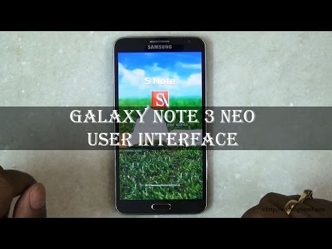 Samsung Galaxy Note 3 Neo Review: Android 4.3 and TouchWiz UI Demo