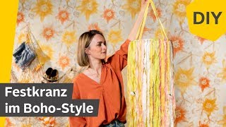 DIY: Festkranz im Boho Stil   Roombeez – powered by OTTO