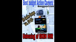 EKEN 4K H9R Action Camera - Unboxing : Best Budget Action Cam