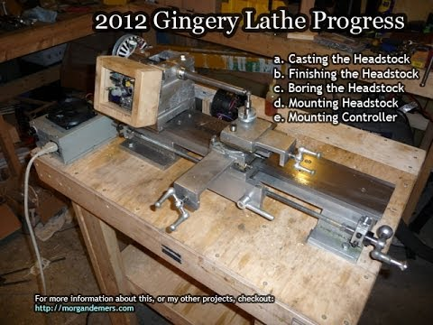 My Gingery Lathe Headstock