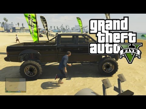 "GTA 5: Awesome & Rare Cars – ""Monster Truck"" SandKing XL Location (GTA V)"