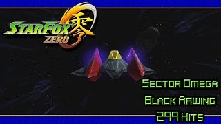 Star Fox Zero (Sector Omega | Black Arwing 299 Hits)