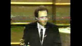 Bradley Whitford wins 2001 Emmy Award for Supporting Actor in a Drama Series