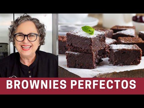 Receta Súper Fácil de Brownies con Cocoa