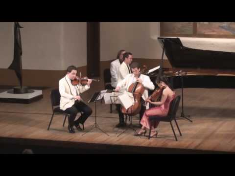 Brahms G minor Piano Quartet Live from Santa Fe 1/5