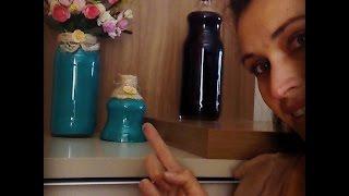 Como Corta Garrafa de Vidro e transforma-las em lindos vasos | Carla Oliveira