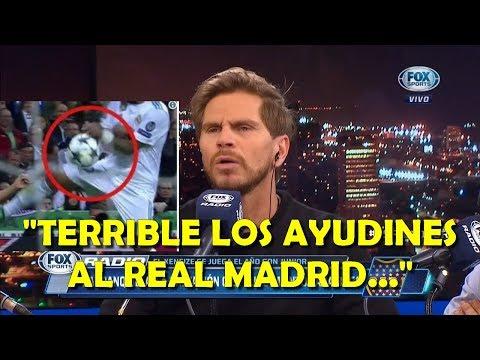 """Vignolo indignado con los """"ayudines"""" al Real Madrid finalista contra el Bayern Munich thumbnail"""