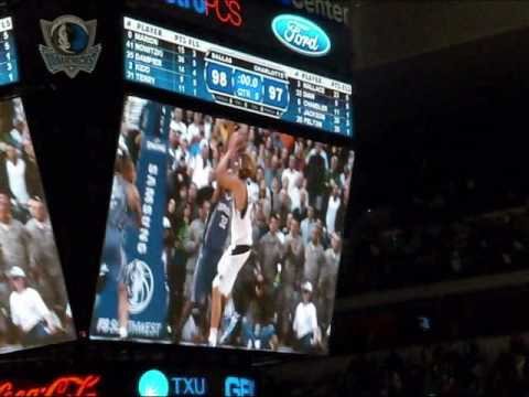 Dirk Nowitzki last shots winners over Bobcats