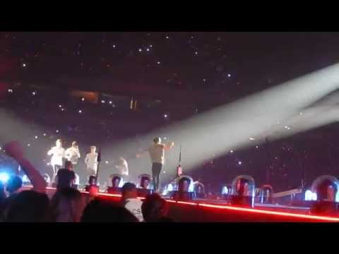 One Direction- Live While We're Young- San Antonio, Tx- September 21, 2014 video