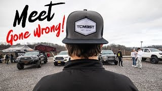 Tennessee Toyota Tacoma Meet up  - GONE WRONG! - We got kicked out
