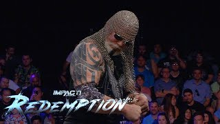 Scott Steiner Returns to an IMPACT Ring LIVE at Redemption! | IMPACT Wrestling Redemption Highlights