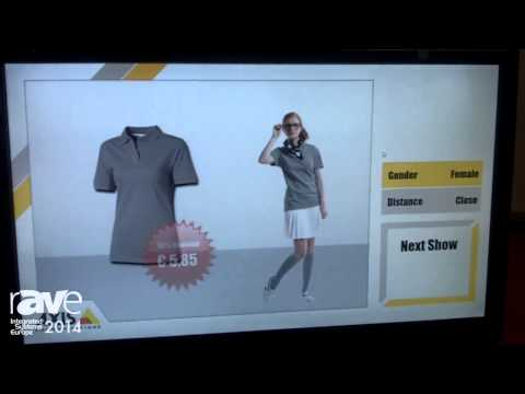 ISE 2014: Net Display Systems Showing Digital Signage Display Featuring Video Analytics Software
