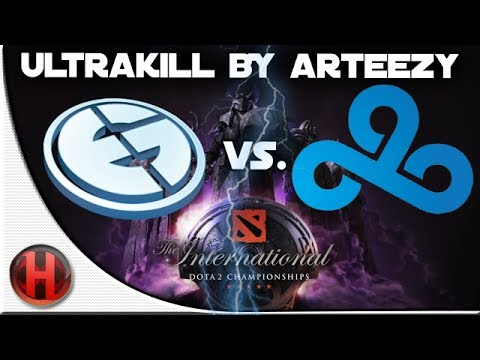 Dota 2 - #TI4 Ultrakill by Arteezy vs C9 [Groupstage]