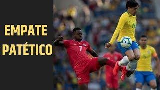 Empate patético do Brasil com Panamá, modorrento até para os parças de Neymar