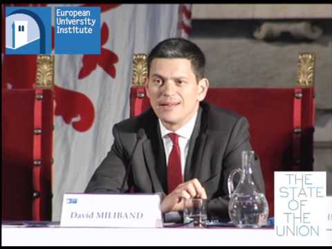David Miliband - #SoU2013 Morning Session