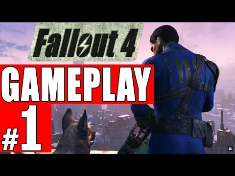 Fallout 4 Gameplay Part 1, Walkthrough, and Exploration Bethesda Universe(Story PART 1)