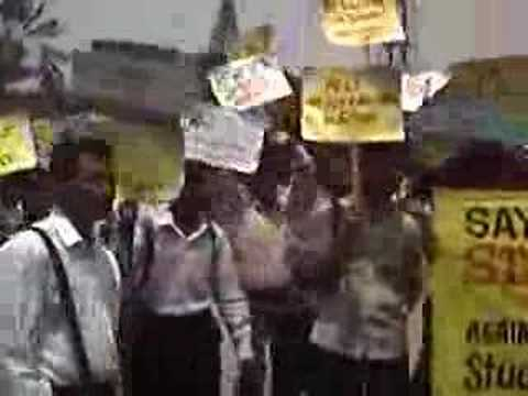 Sio Bangalore-sex Education Protest video