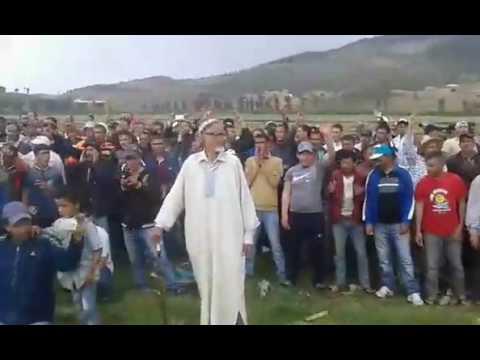 محاصرة مروحية وزير الداخلية بإساكن