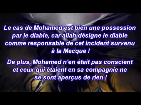 Le diable possédait Mohamed !