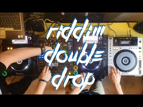 RIDDIM DOUBLE DROP MIX (feat. INFEKT, Al Ross, MURDA, SUBFILTRONIK!!!™) - AUDIOGENIC B2B TOPHAT