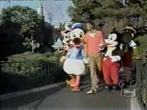 Michael Jackson At Disneyland YouTube