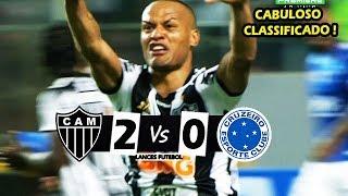 Atlético-MG 2 x 0 Cruzeiro - VENCEU MAS NÃO LEVOU ! Melhores Momentos (60fps) - Copa do Brasil 2019