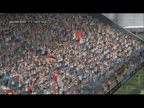 FIFA 14 - Next-gen crowds go crazy - PS4 Gameplay