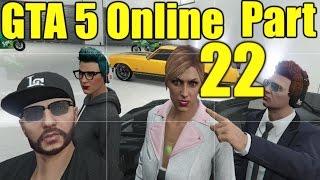 The FGN Crew Plays: GTA 5 Online #22 - RPGs vs Bikers (PC)
