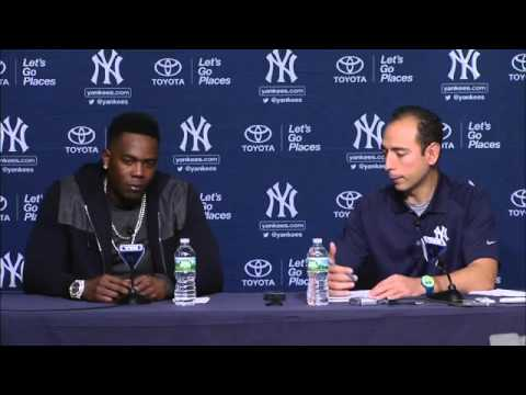 Aroldis Chapman is ready to return to the Yankees