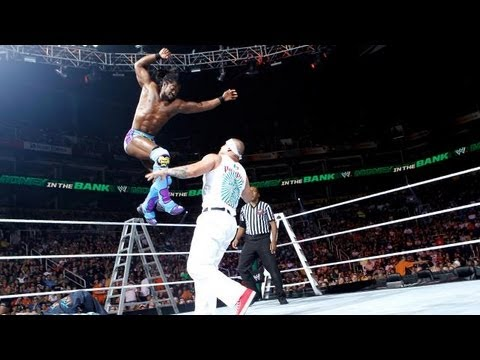 Kofi Kingston and R-Truth vs Hunico and Camacho WWE Money in the Bank 2012 Pre-show