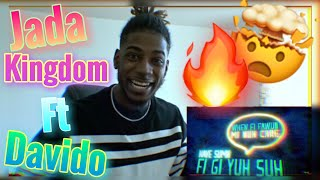 Jada Kingdom, Davido - One Time (Official Lyric Video) | Reaction