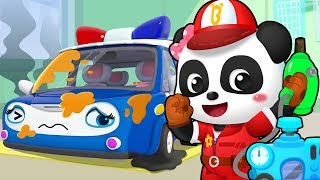 Super Car Mechanic | Monster Truck | Firefighter Song | Kids Songs | Kids Cartoon | BabyBus