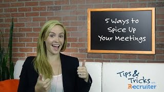 Employee Engagement: 5 Ways To Spice Up Your Meetings