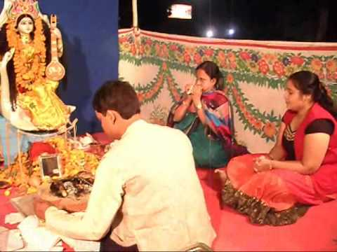 Karnavati Bengali Saraswati Puja.wmv video