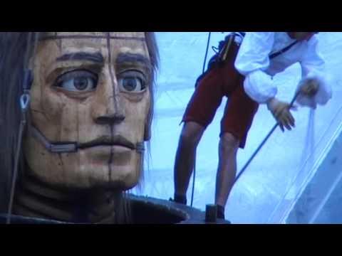 COMPAGNIE ROYAL DE LUXE - Shortfilm 2009 - Part 2 - Die Riesen in Berlin 2009