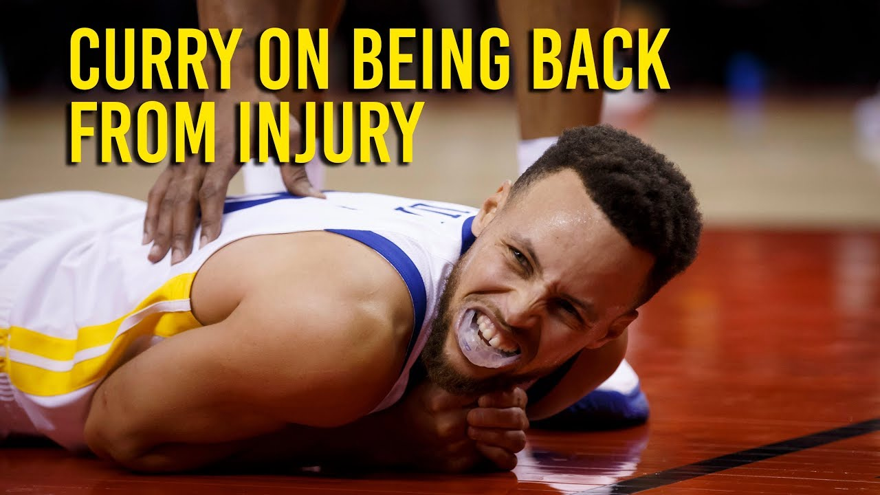 Curry says he's sore but good enough to play after injury