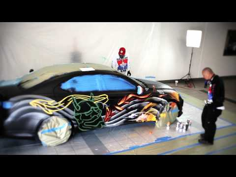 LEXUS IS350 GET COLORED BY BAM & VOGUE