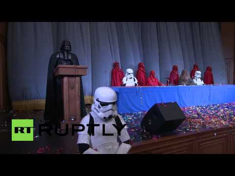 Ukraine: Darth Vader reveals plan to take over Ukraine