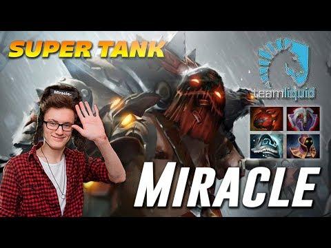 Miracle Pudge Super TANK   Dota 2 TOP MMR
