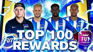 FIFA 19: TOP 100 REWARDS mit TORUNARIGHA, KÖPKE, FRIEDE UND NOHANDGAMING 😂 🔥