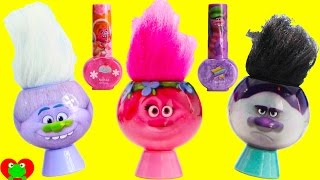 Trolls Dreamworks Bath Soaps Poppy and Branch Surprises