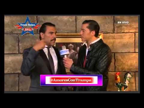 Eduardo Yañez en el Webshow del estreno de Amores Con Trampa