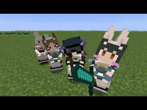 Little Maid Mod - Minecraft 1.6.4 - 1.7.2 Links in Description